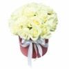 Коробка «Белые Розы»